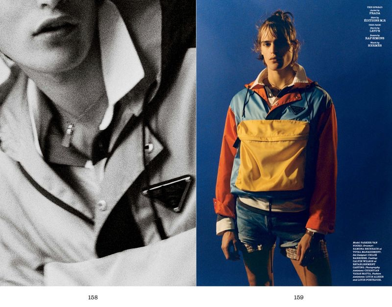 Parker van Noord Goes Sporty for Interview Shoot