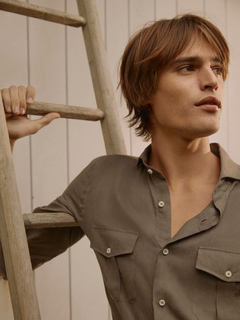 Dutch model Parker van Noord links up with Massimo Dutti for The Scents.