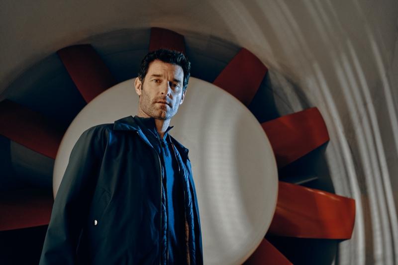 Mark Webber stars in the Porsche x BOSS spring-summer 2020 campaign.