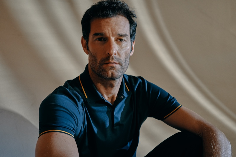 Front and center, Mark Webber stars in the Porsche x BOSS spring-summer 2020 campaign.