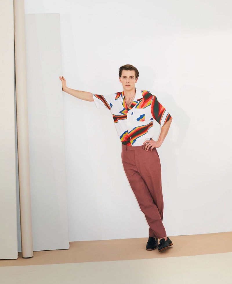 Quentin Rocks Power Prints for MatchesFashion