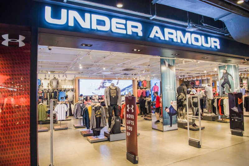 Storefront Under Armour