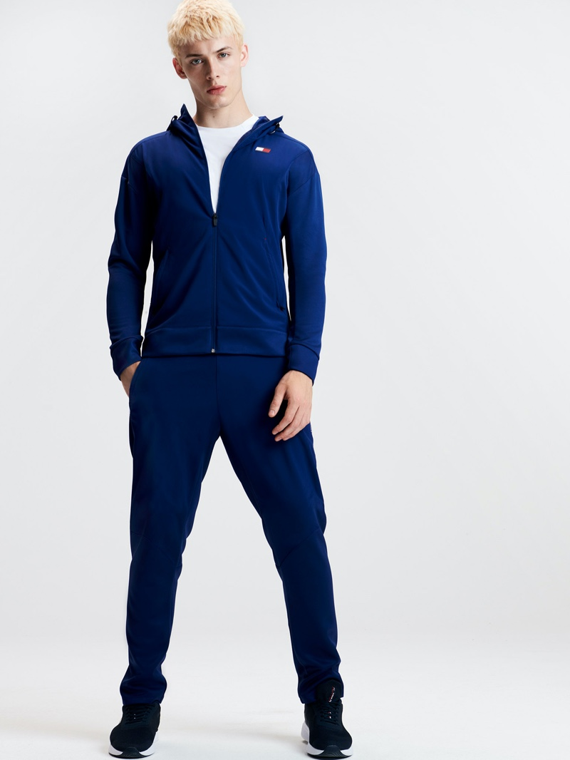 Tommy Sport enlists João Knorr to star in its spring-summer 2020 lookbook.