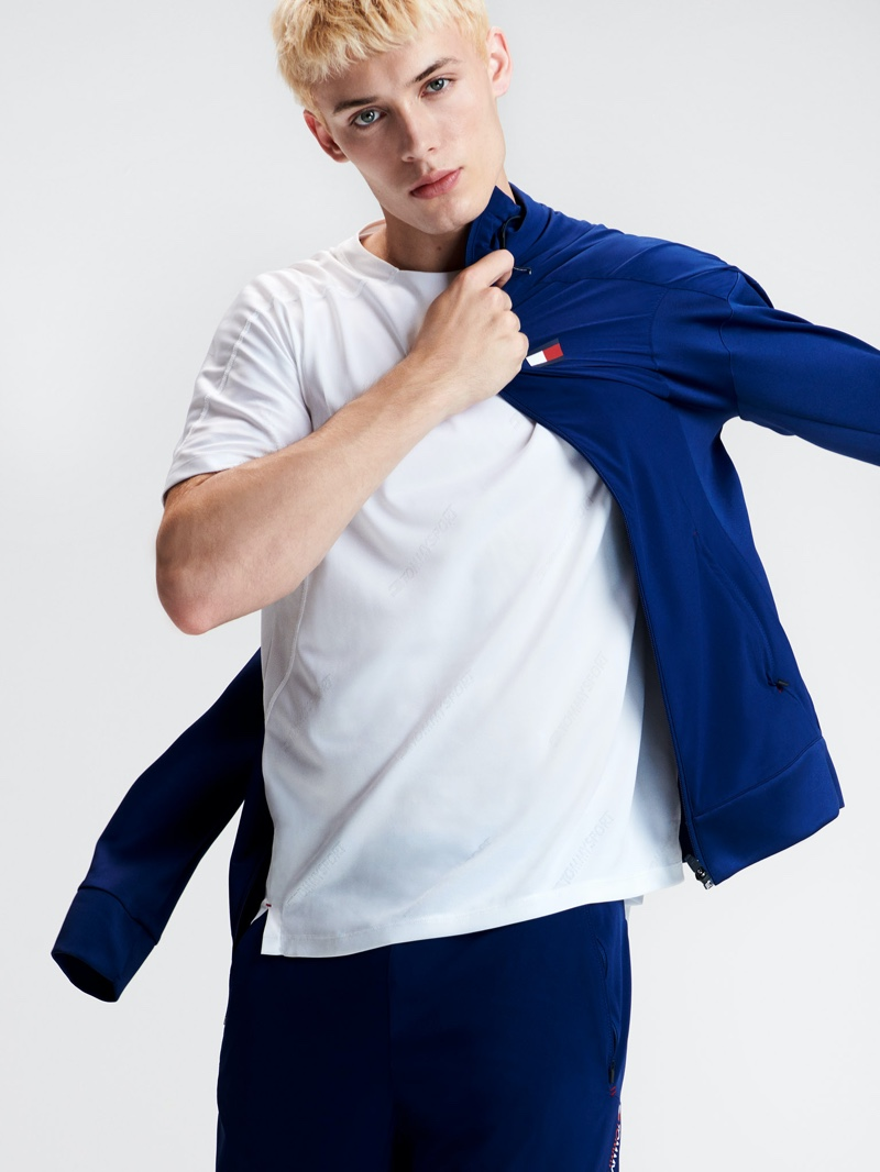 João Knorr stars in Tommy Sports' spring-summer 2020 collection lookbook.
