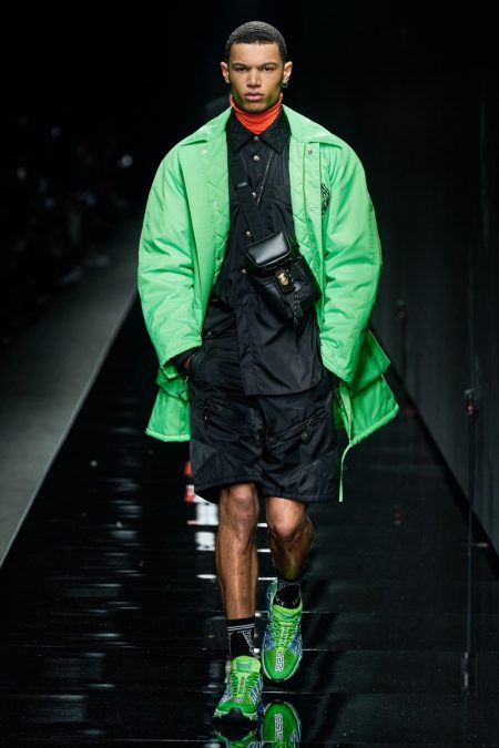 Versace Presents Powerful Style with Fall '20 Collection