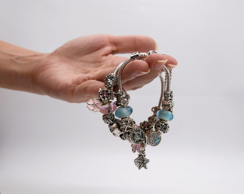 Womans Bracelet with Charms