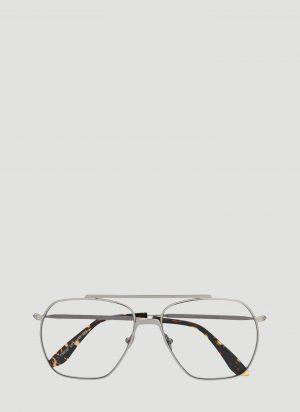Acne Studios Anteom Sunglasses in Silver size One Size