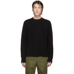Acne Studios Black Peele Crewneck Sweater