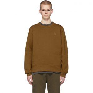 Acne Studios Brown Fairview Face Sweatshirt