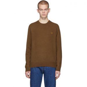 Acne Studios Brown Kalon Face Sweater