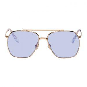 Acne Studios Gold Anteom Sunglasses