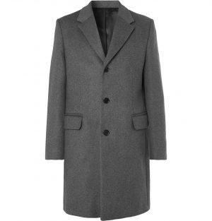Acne Studios - Mélange Wool-Blend Overcoat - Men - Gray
