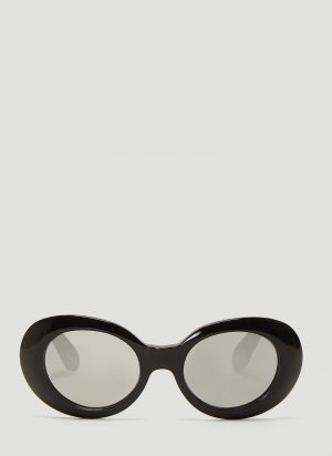 Acne Studios Mustang Sunglasses in Black size One Size