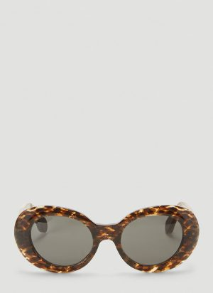 Acne Studios Mustang Sunglasses in Brown size One Size