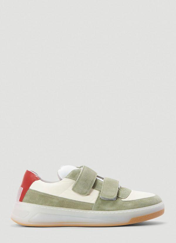 Acne Studios Perey Nylon Sneakers in White size EU - 44
