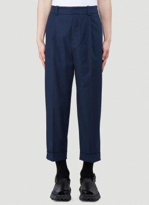 Acne Studios Pierre Wool Pants in Blue size IT - 50