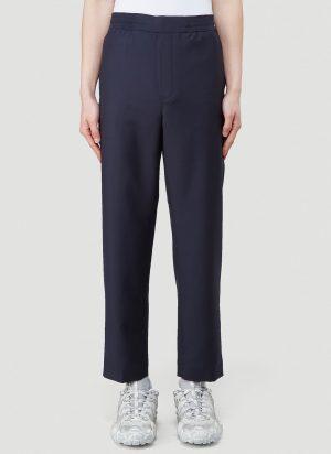 Acne Studios Pismo Wool Pants in Blue size IT - 52
