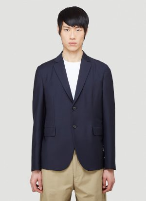 Acne Studios Single-Breasted Blazer in Blue size IT - 50
