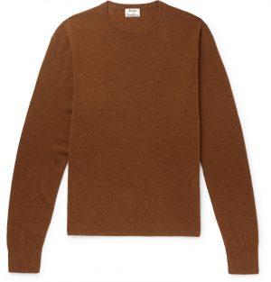 Acne Studios - Wool-Blend Sweater - Men - Brown