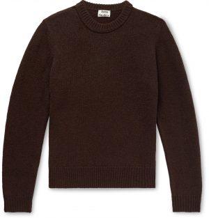 Acne Studios - Wool Sweater - Men - Brown