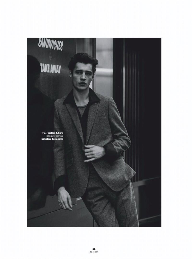 Adrien Dons Jean-Paul Belmondo-Inspired Style for GQ Latin America