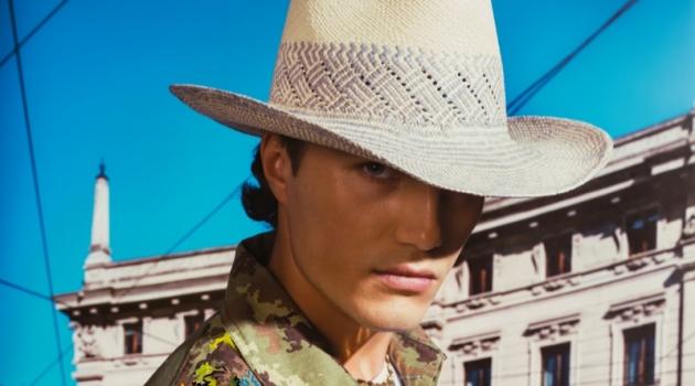 Ward Strootman stars in Borsalino's spring-summer 2020 campaign.
