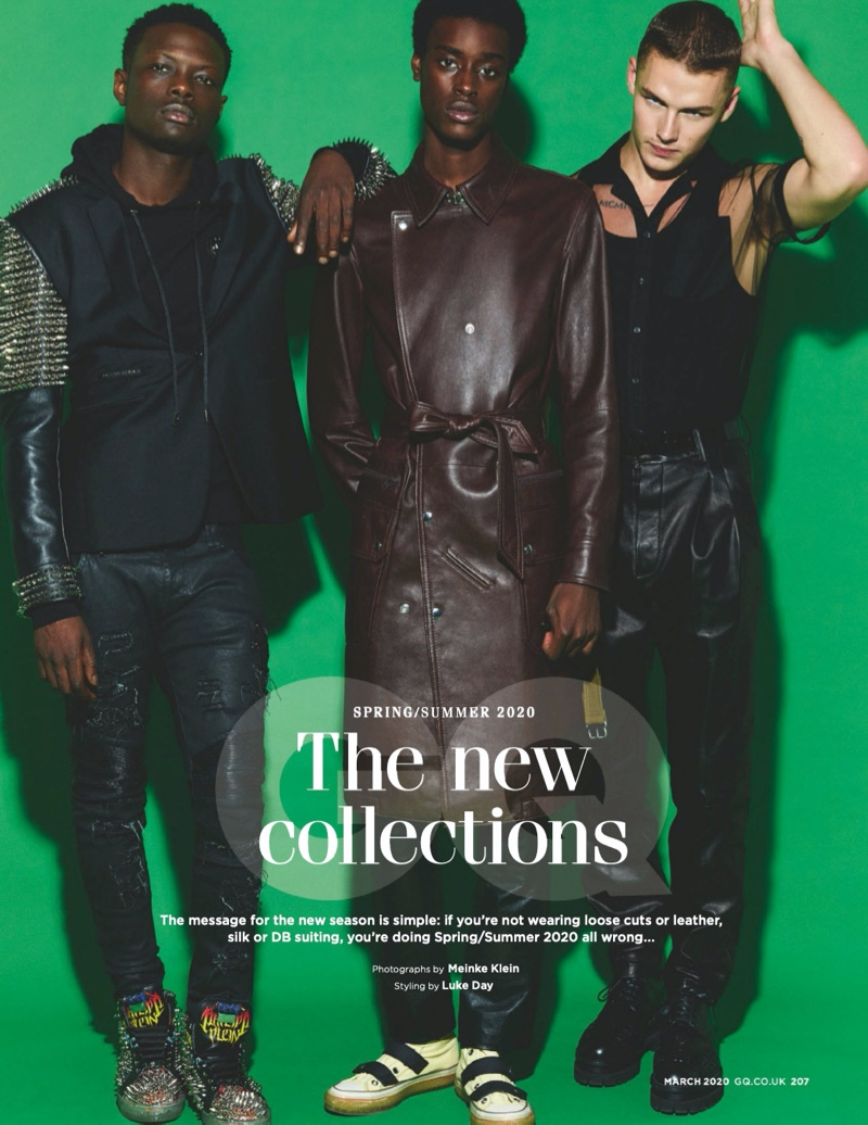Finley, Louis + More Model Spring '20 Collections for British GQ