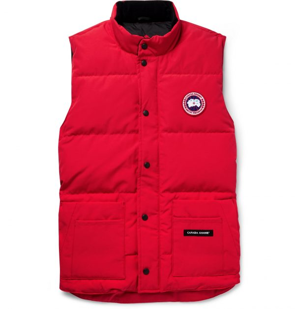 Canada Goose - Slim-Fit Freestyle Crew Quilted Arctic Tech Down Gilet - Men - Red