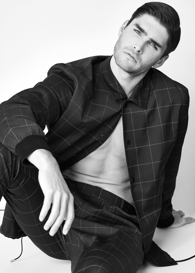 Charlie Matthews Takes to the Studio for L'Officiel Lithuania