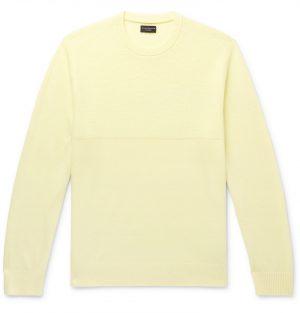 Club Monaco - Cashmere Sweater - Men - Yellow