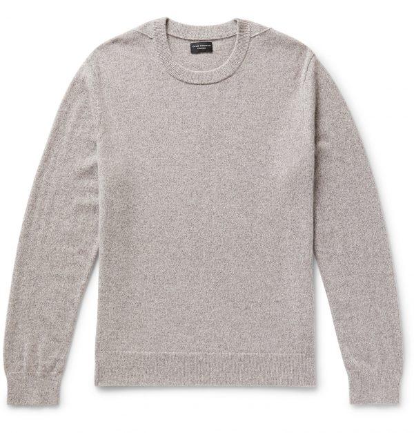 Club Monaco - Mélange Cashmere Sweater - Men - Gray