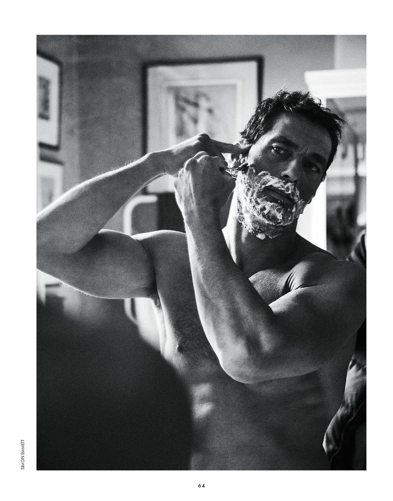 David Gandy Stars in Elle Man Russia Cover Shoot