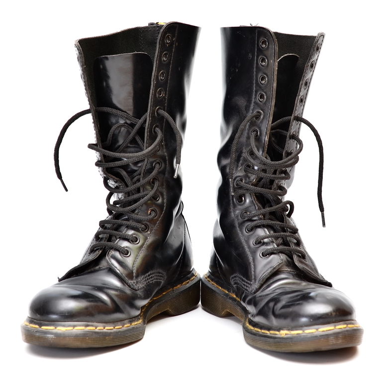 Dr Martens Military Style Combat Boots Mens