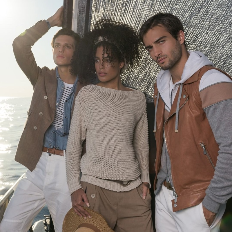 Fashion brand Eleventy taps Pau Ramis and Aleksandar Rusić  to appear in its spring-summer 2020 campaign.