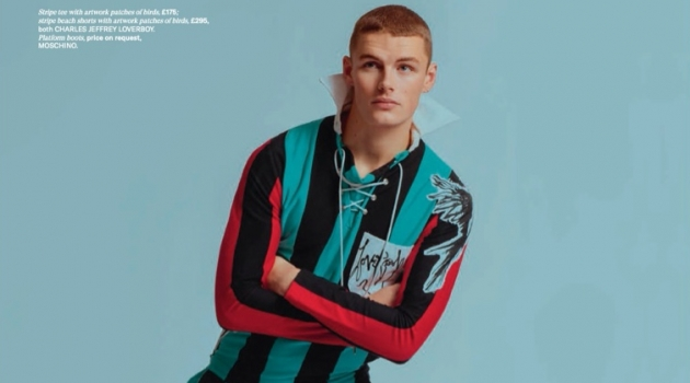 Finley Rocks Bold Spring Looks for Gay Times