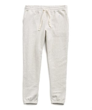 Fleece Classic Sweatpant in Eggshell Mix