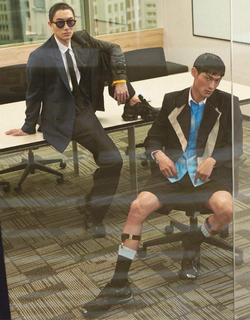 Fancy Office Men: Wilson & Jungle for GQ Taiwan