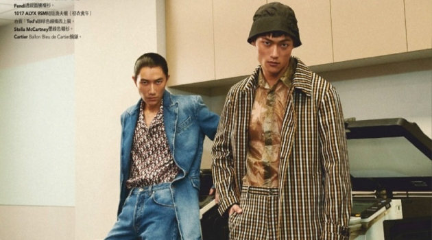 Fancy Office Men: Wilson & Jungle for GQ Taiwan