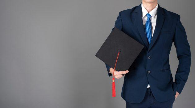 Graduate in Suit
