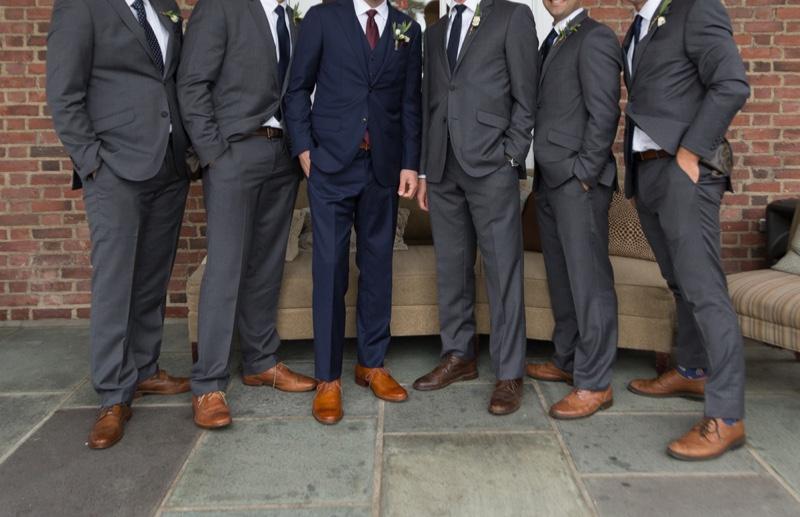 Groomsmen Suit Group Photo