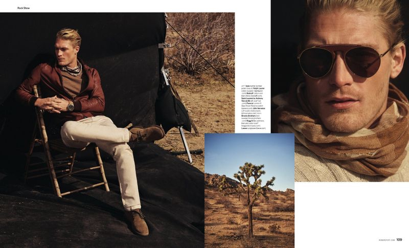 Rock Show: Harry Goodwins for Robb Report