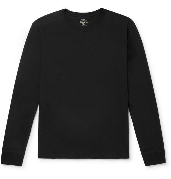 J.Crew - Cotton-Jersey T-Shirt - Men - Black