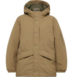 J.Crew - Ghostnet ECONYL® Nylon PrimaLoft Hooded Parka - Men - Brown