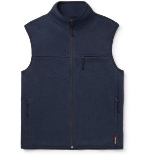 J.Crew - Nordic Polartec-Lined Stretch-Jersey Gilet - Men - Blue