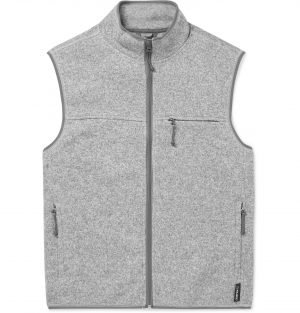 J.Crew - Nordic Polartec-Lined Stretch-Jersey Gilet - Men - Gray