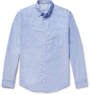 J.Crew - Slim-Fit Button-Down Collar Cotton Oxford Shirt - Men - Blue