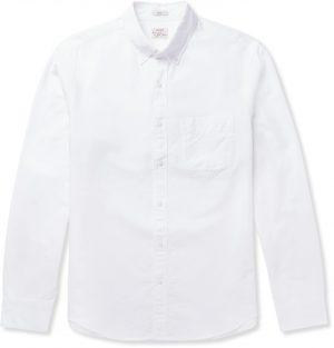 J.Crew - Slim-Fit Button-Down Collar Cotton Oxford Shirt - Men - White