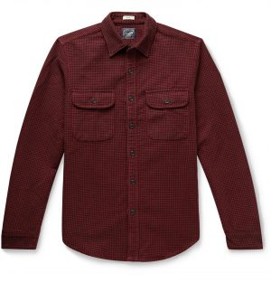 J.Crew - Slim-Fit Gingham Cotton Overshirt - Men - Red