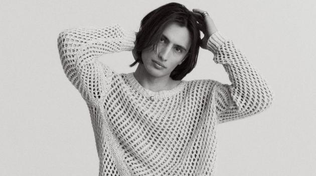 James Turlington Stuns in Minimal Style for Vogue Czechoslovakia