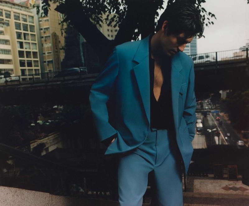 Justin Travels to São Paulo with Browns Fashion